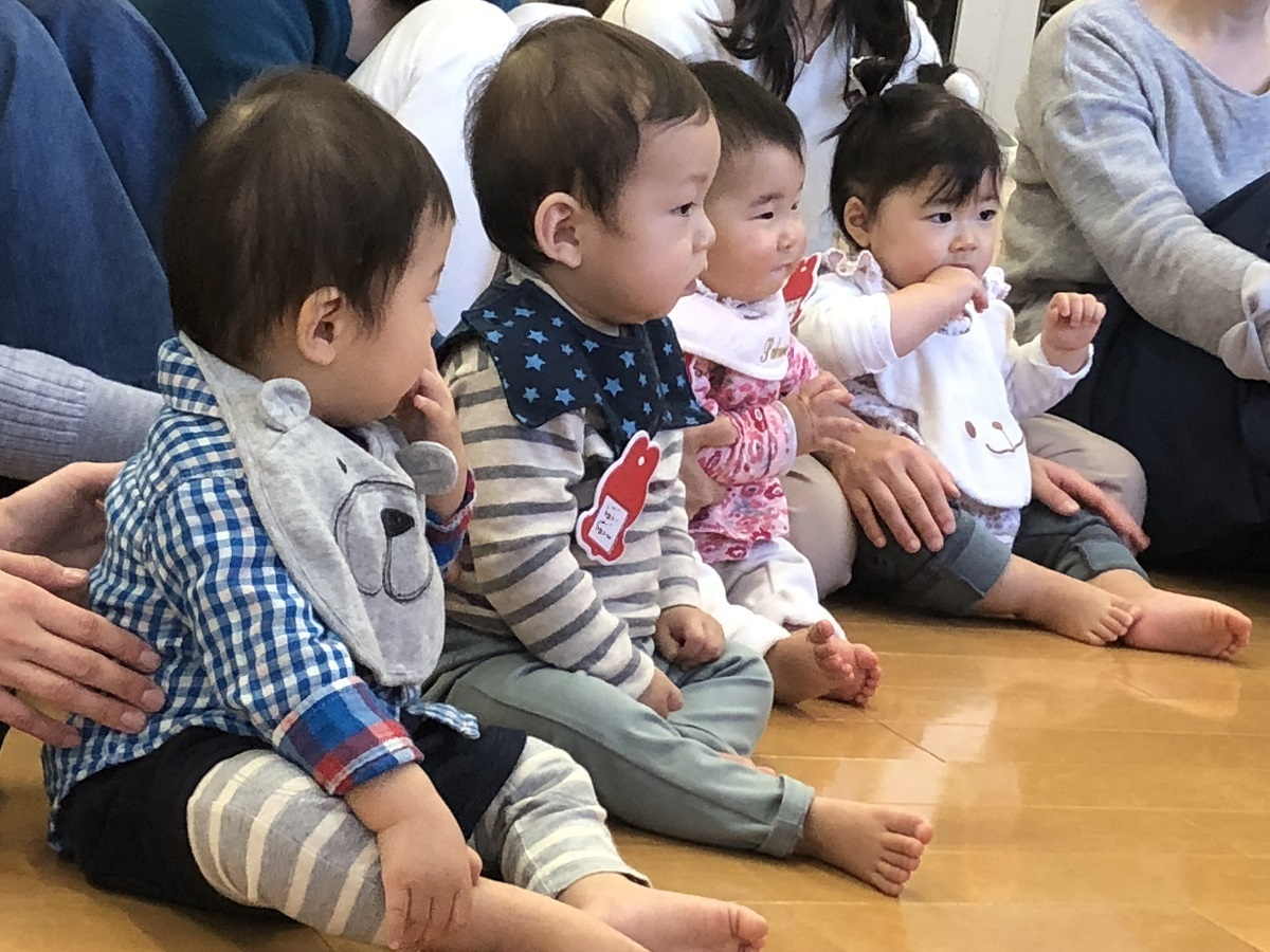 <strong>すごい集中!入園前に大切な力が身につく!0歳からの音楽レッスン</strong>