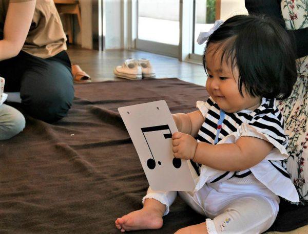 【木更津】赤ちゃんから音符を覚えてリズム感が身につくレッスン