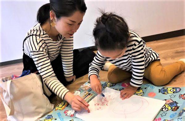 【兵庫西宮】初めて「円」が描けたらそれは記念日~お絵描きリトミック