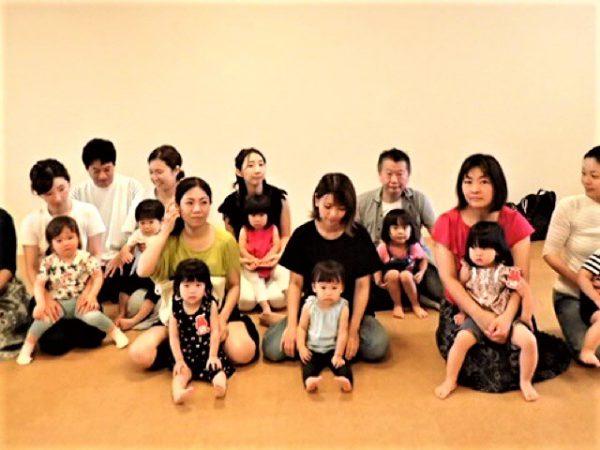 【大阪】日曜クラス24組のべ52人で!リトミックで親子音楽レッスン